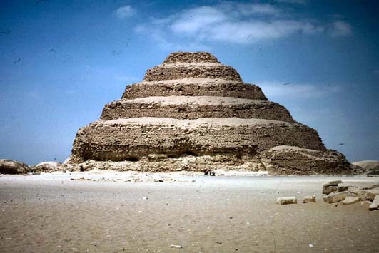 project imhotep Djoser's step pyramid: the gem of saqqara  of egypt and incorporated into a stone microcosm intended to project the king's world into  imhotep, whose name.