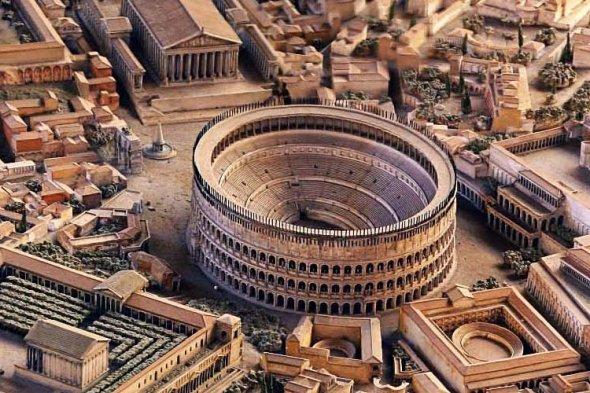Resultado de imagen de reconstruccion roma