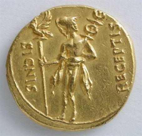 moneda-romana-Museo-Zaragoza