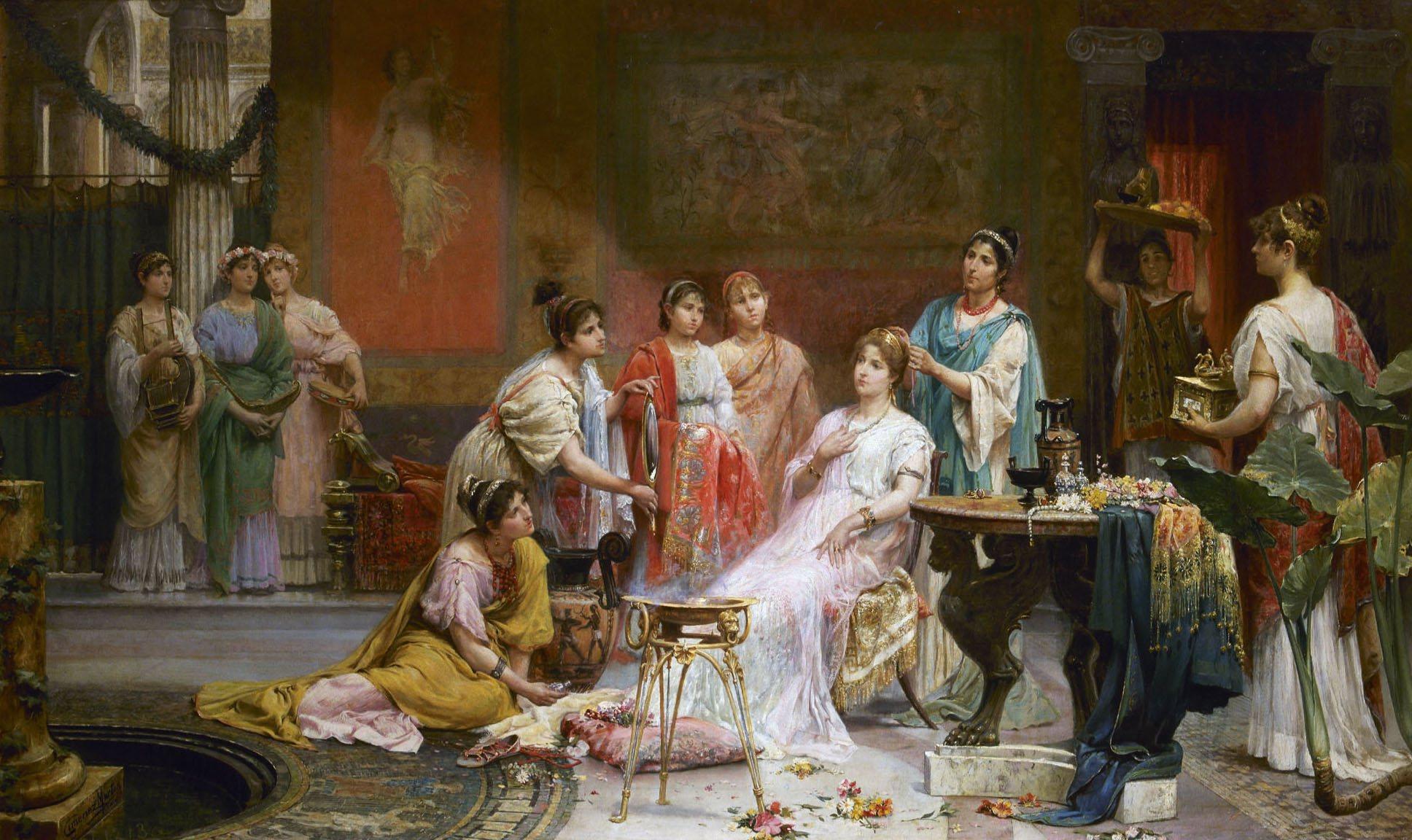 mujer romana: