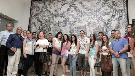 Mosaico-romano-Amores