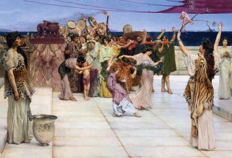 procesión-báquica-Alma-Tadema