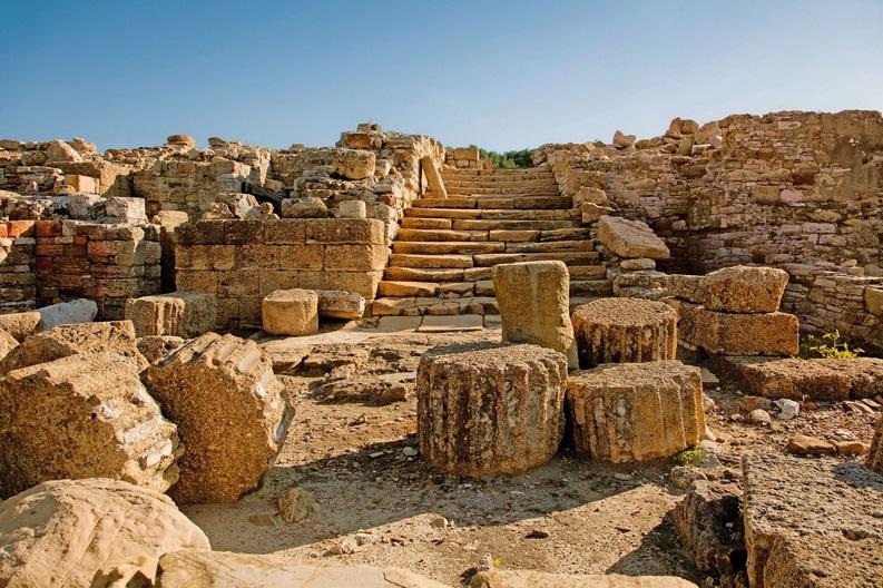 Carteia, una colonia romana en el estrecho de Gibraltar
