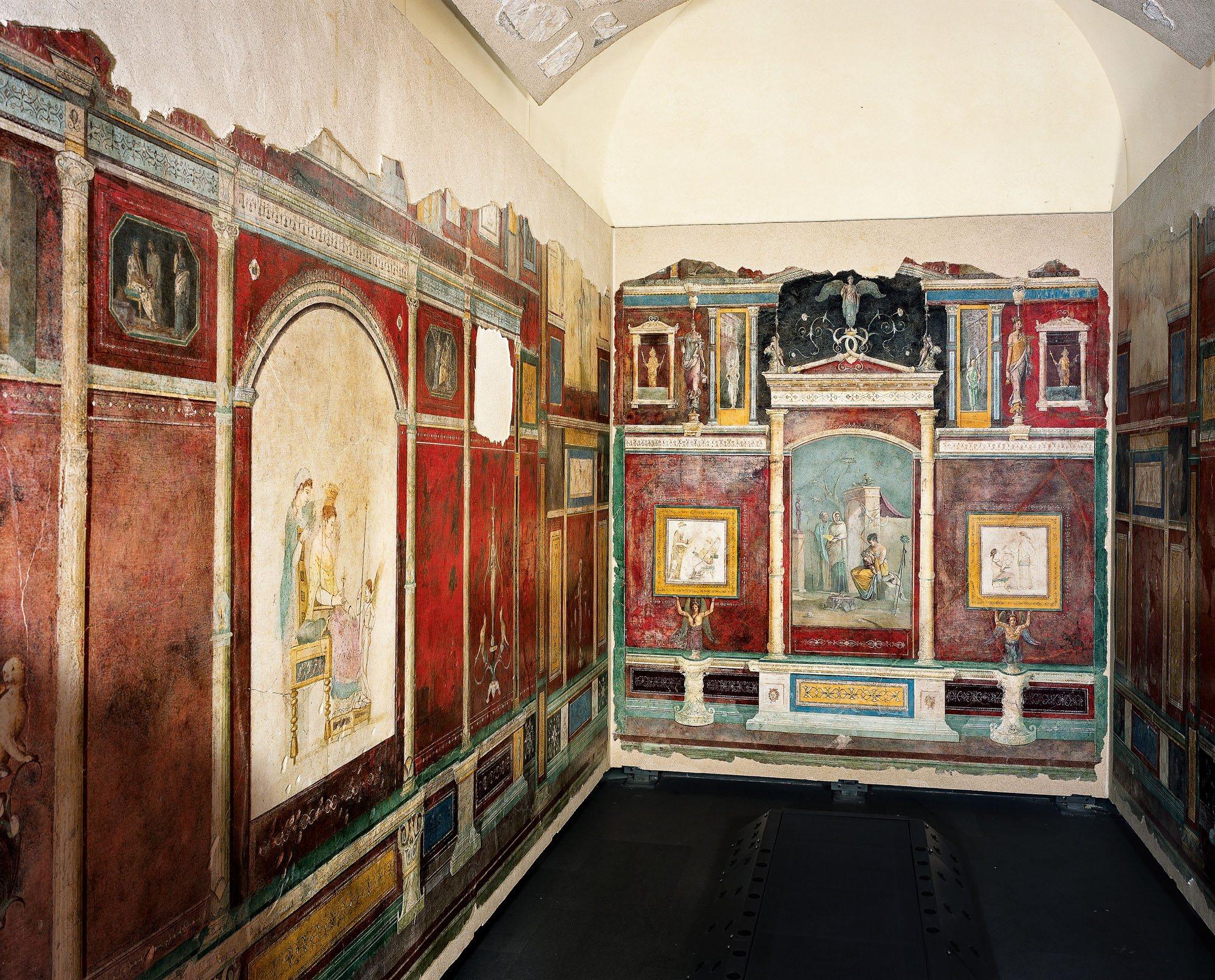 La villa farnesina una galer a de pintura bajo el t ber for La casa de las pinturas
