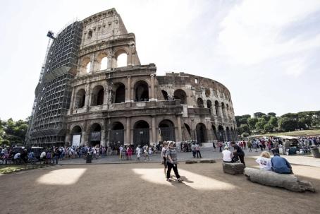 Coliseo-andamios