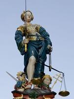 Dama de la Justicia en Berna /  WIKIPEDIA