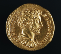 Áureo con la imagen de Marco Aurelio / Dagli Orti, Getty