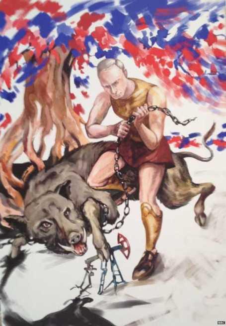 Putin-Hércules-6