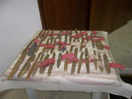 I lingotti di Oricalco del VI sec. a.C. recuperati nel mare di Gela