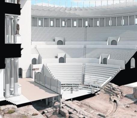 teatro-romano-Tarraco-3D-2