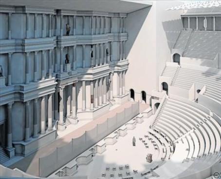 teatro-romano-Tarraco-3D-3