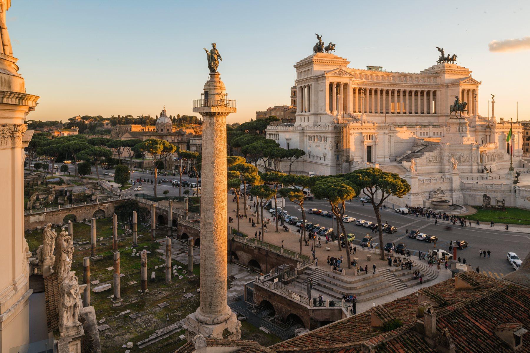 Resultado de imagen de Columna Trajana
