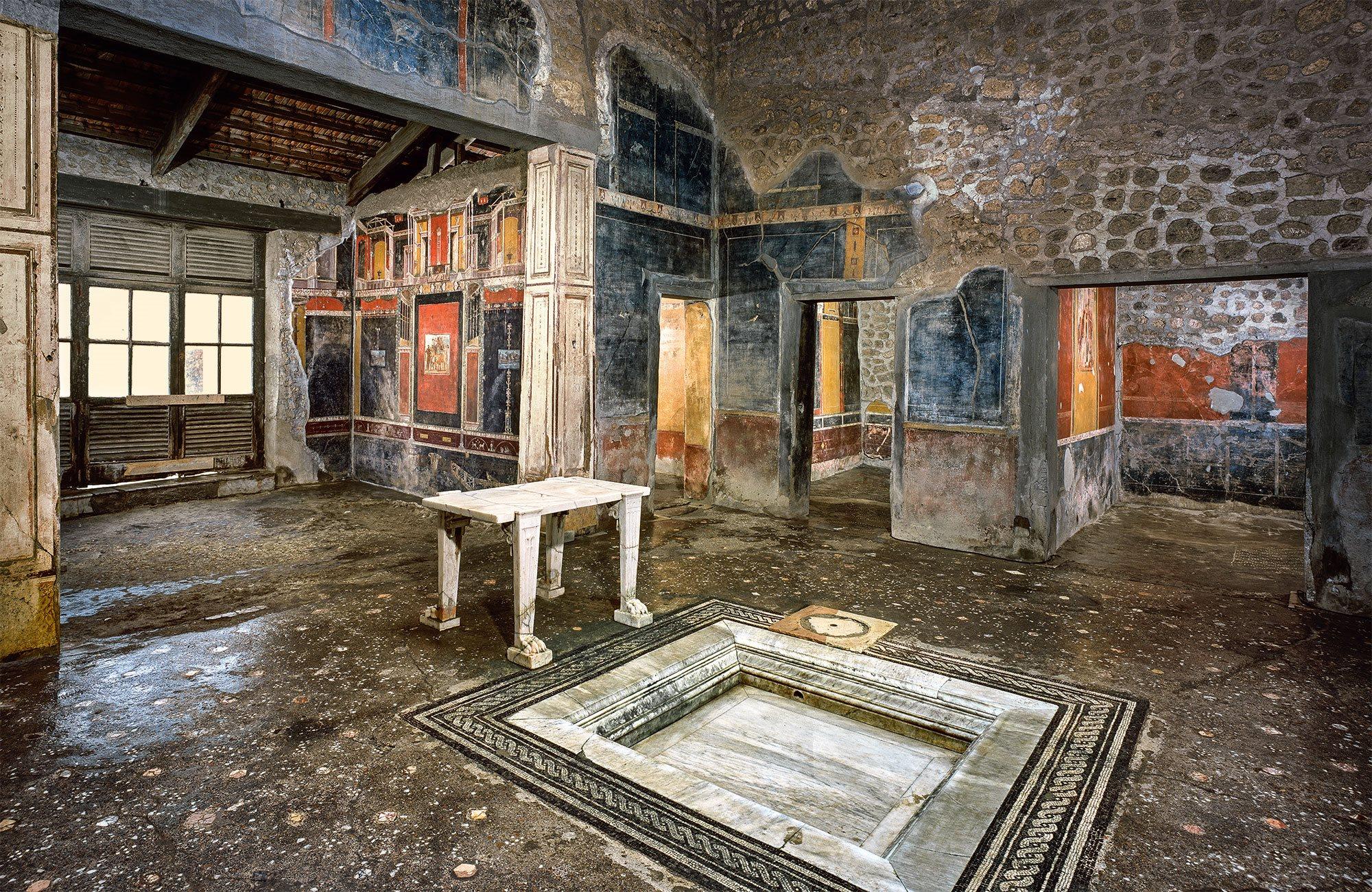 Pompeya la casa de marco lucrecio front n la t nica de neso - Casa in comproprieta e diritto di abitazione ...