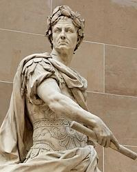 Escultura de Julio César, por Nicolas Coustou / ABC