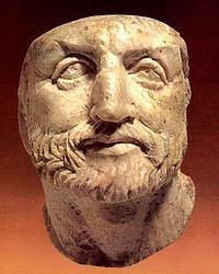 Busto de Filipo II. ABC
