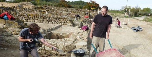 Excavaciones En Villauba Girona Desvelan Una Instalacion Termal De