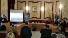 Monterroso, ayer, presenta sus conclusiones en el Ayuntamiento.