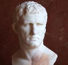 Busto de Marco Vipsanio Agripa- Museo del Louvre
