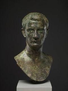 Retrato en bronce de Calígula que se puede ver en el Metropolitan de Nueva York (Met)