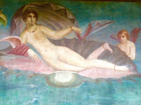 Pompei, la Venere in Conchiglia
