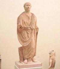 Efigie de Trajano hallada en un yacimiento andaluz.
