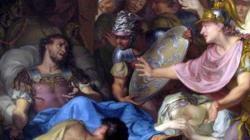 El lecho de muerte de Epaminondas. Rijksmuseum, Amsterdam.