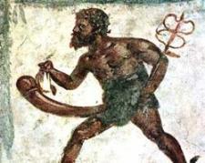 Representación de Priapo - Museo Archeologico Nazionale de Nápoles