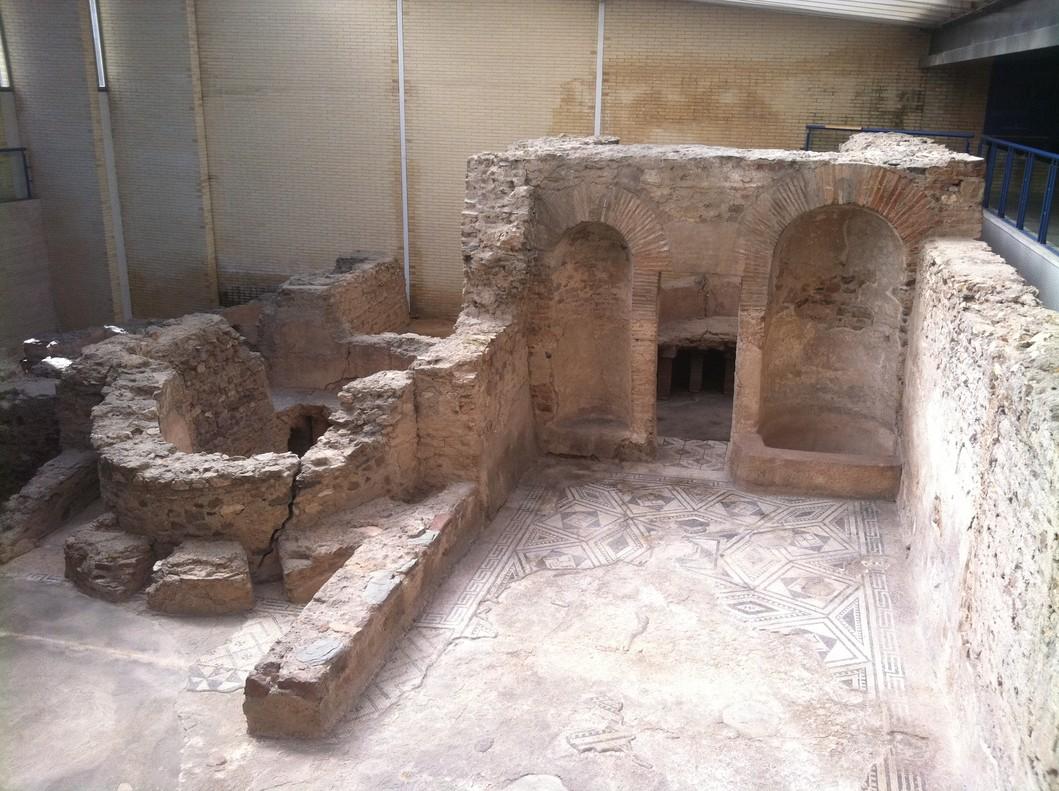 Las termas romanas de sant boi declaradas bien de inter s - Sofas sant boi de llobregat ...