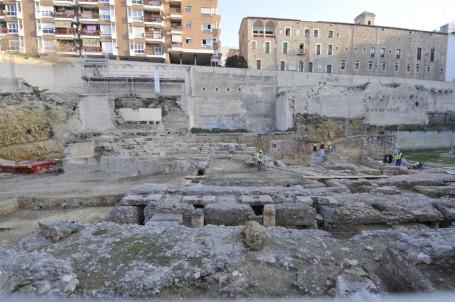 excavaciones-del-teatro-romano-tarraco