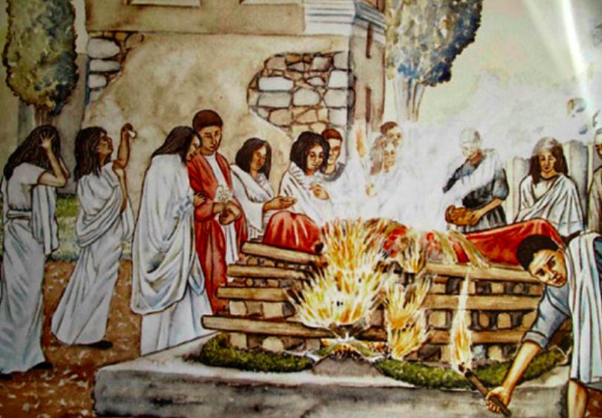 Resultado de imagen de incineracion romana