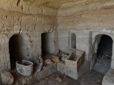 Hallada una cueva funeraria romana durante unas obras en Tiberíades (Israel) 2