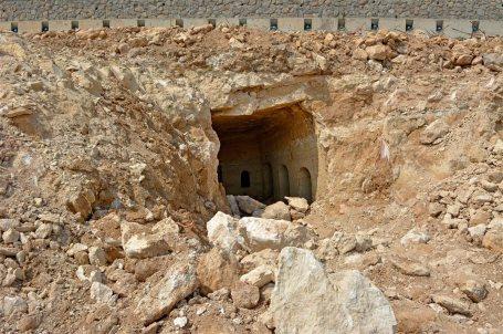 Hallada una cueva funeraria romana durante unas obras en Tiberíades (Israel) 3