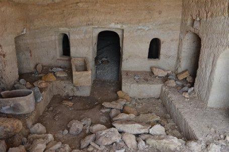 Hallada una cueva funeraria romana durante unas obras en Tiberíades(Israel) 3