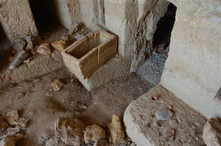 Hallada una cueva funeraria romana durante unas obras en Tiberíades(Israel) 4