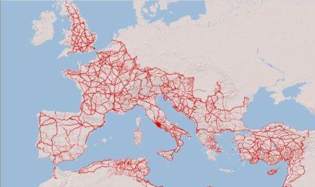 El estudio que muestra cómo la impresionante red de caminos del Imperio romano sigue generando prosperidad 2.000 años después 2